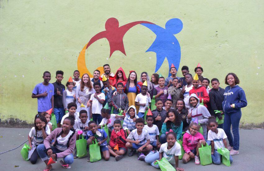 groep deelnemers aan het project